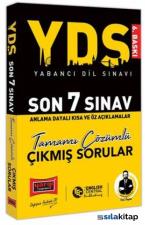 Yargı Yayınları YDS Son 7 Sınav Tamamı Çözümlü Çıkmış Sorular 3. Baskı