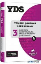 YDS Tamamı Çözümlü Soru Bankası Serisi 3 Cloze Tests