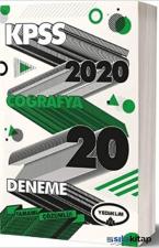 Yediiklim 2020 KPSS Genel Kültür Coğrafya Tamamı Çözümlü 20 Deneme