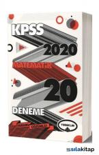 Yediiklim 2020 KPSS Genel Yetenek Matematik Tamamı Çözümlü 20 Deneme