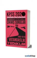 Yediiklim 2020 KPSS Vatandaşlık Tamamı Çözümlü Konularına Göre Çıkmış Sorular