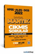 Yediiklim Yayınları 2022 KPSS ALES DGS Sayısal Mantık Tamamı Çözümlü Çıkmış Sorular