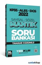 Yediiklim Yayınları 2022 KPSS ALES DGS Sayısal Sözel Mantık Tamamı Çözümlü Soru Bankası