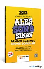 Yediiklim Yayınları 2022 Master Serisi ALES Sayısal- Sözel Yetenek Son 8 Sınav Tamamı Çözümlü Çıkmış Sorular