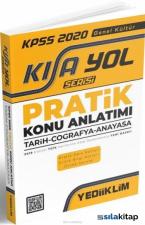Yediiklim Yayınları KPSS 2020Kısayol SerisiGenel Kültür Pratik Konu Anlatımı (Tarih - Coğrafya - Anayasa)