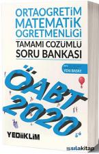 Yediiklim Yayınları KPSS ÖABT Ortaöğretim Matematik Öğretmenliği Tamamı Çözümlü Soru Bankası