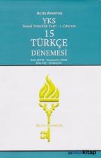 YKS-TYT 15 Türkçe Denemesi 1. Oturum